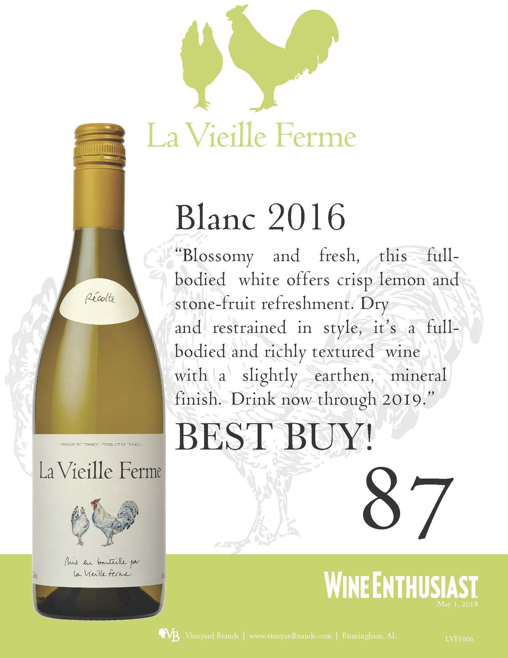 La Vieille Ferme Blanc 2016.jpg