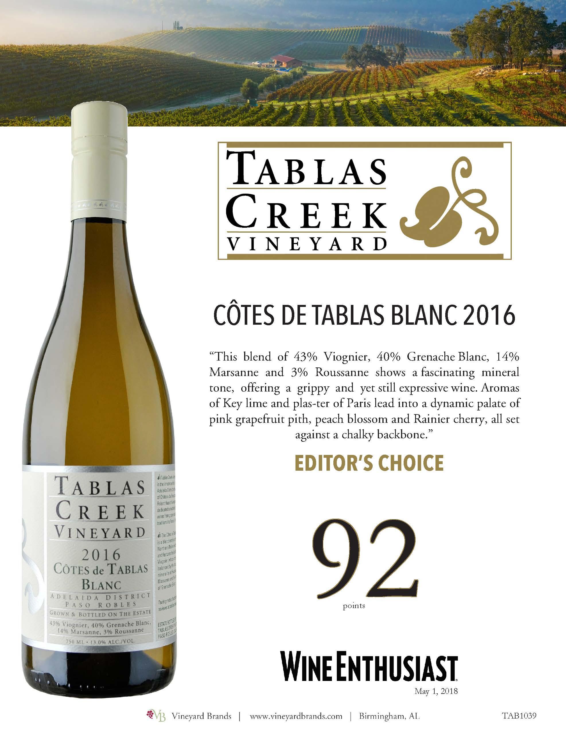 Tablas Creek cotes de tablas blanc 2016.jpg