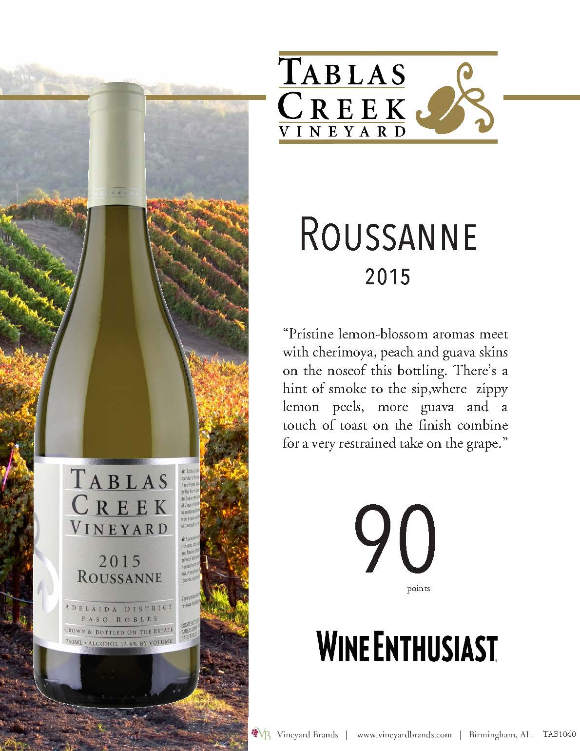 Tablas Creek Roussanne 2015.jpg
