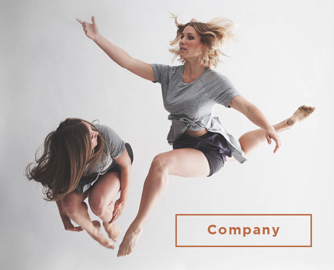 company dance button