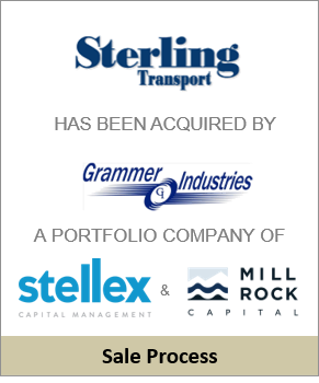Sterling Transport Sells to Grammer Industries