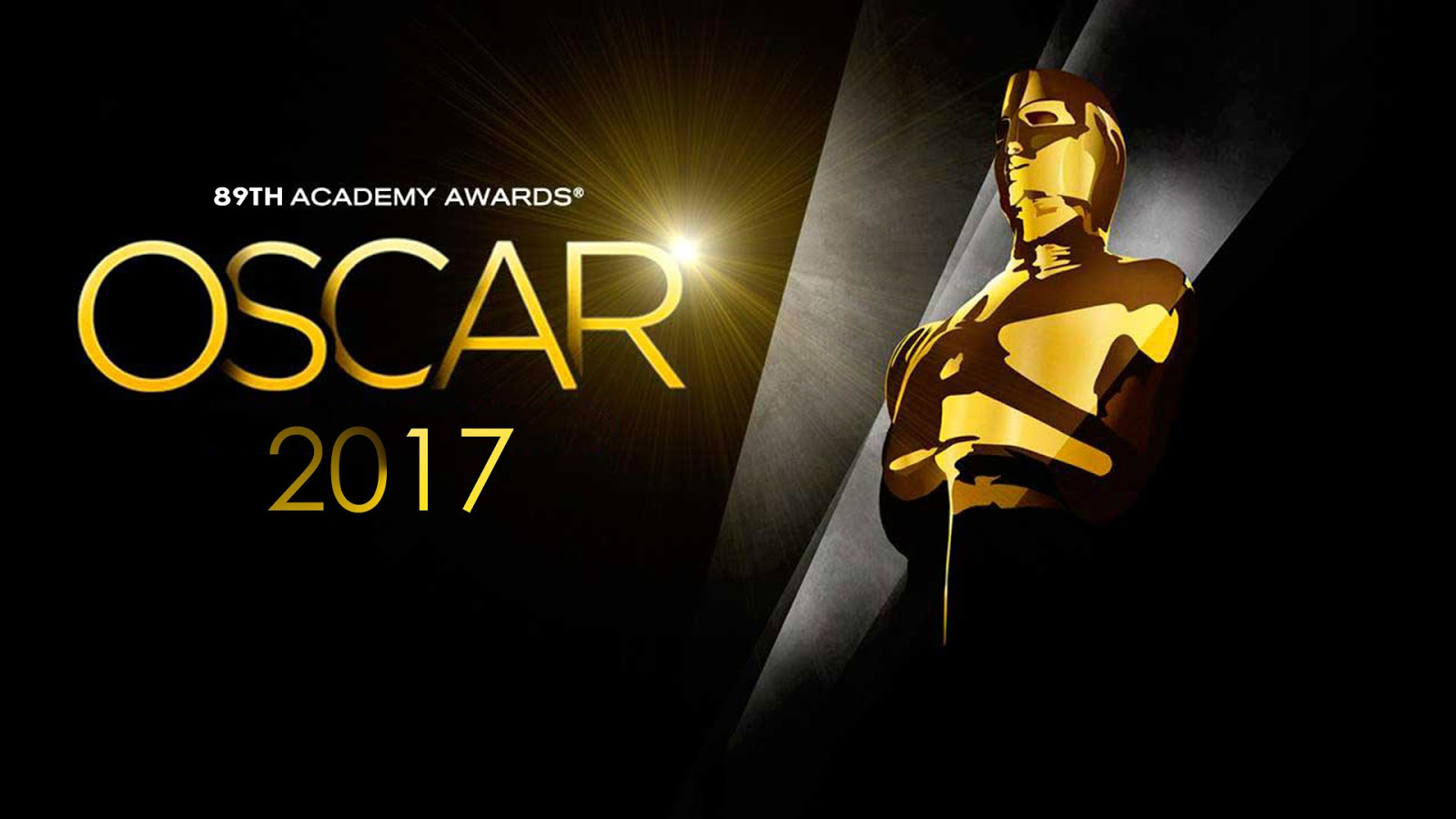 The Academy Awards air February 26th, 2017 at 8pm
