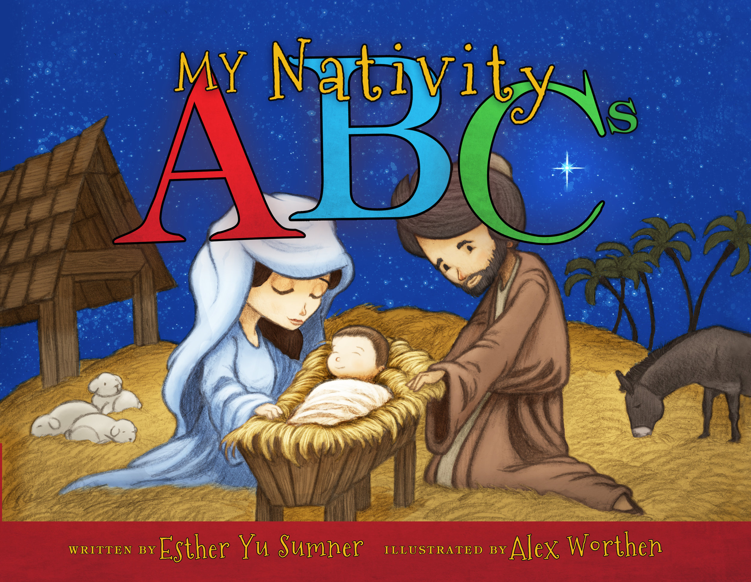 """My Nativity ABCs"" written by Esther Yu Sumner."
