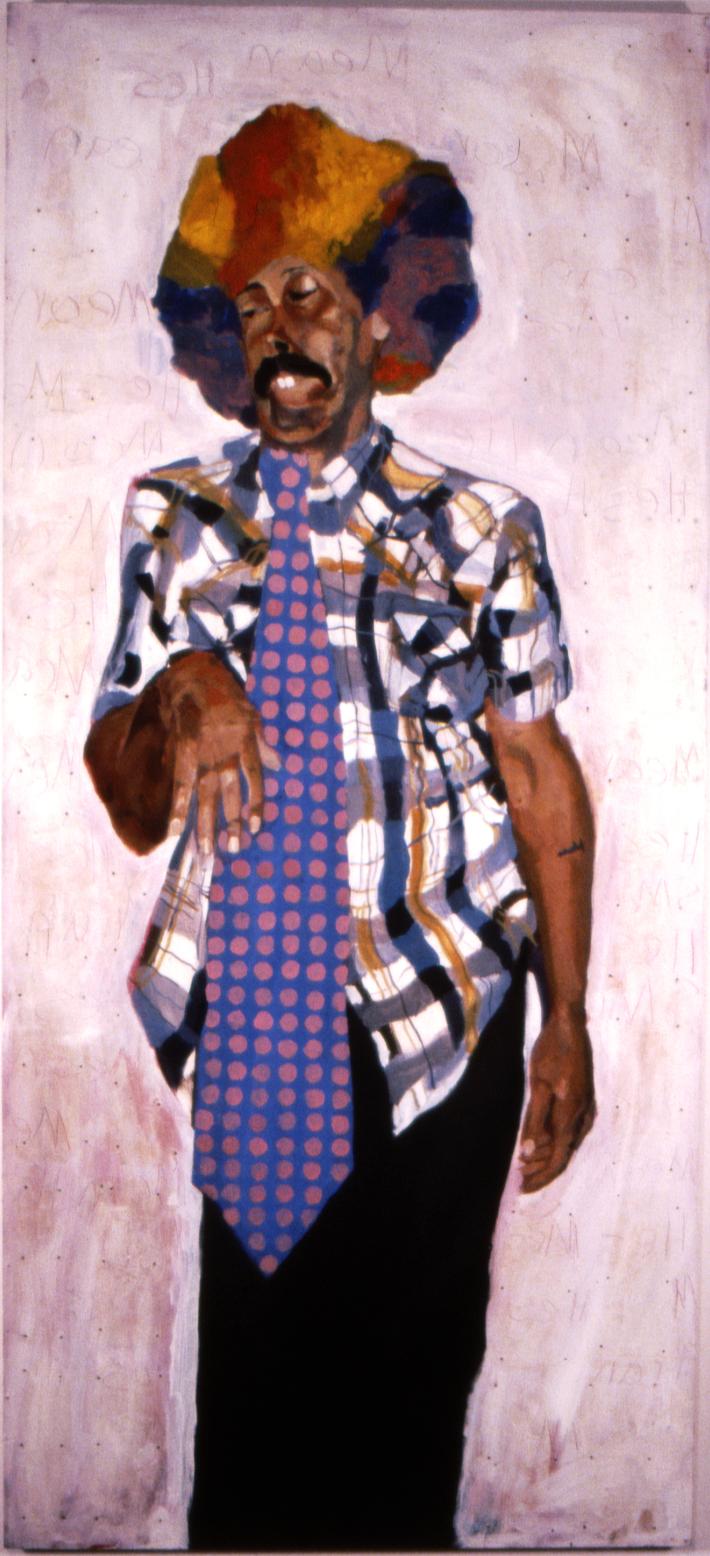He's Mean 6'x3' oil on wood 1998.jpg