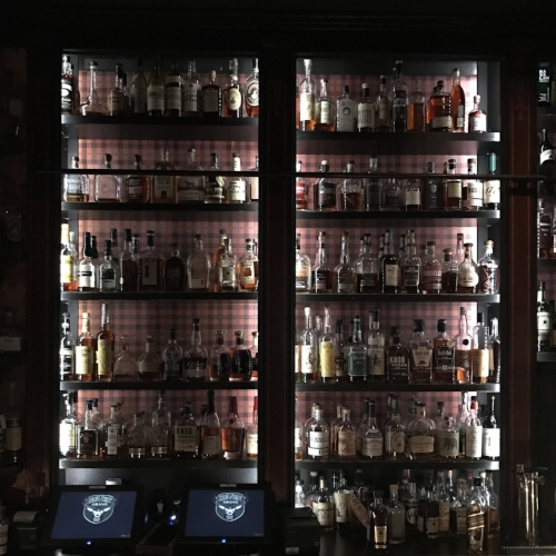 Back Bar at Seven Grand LA