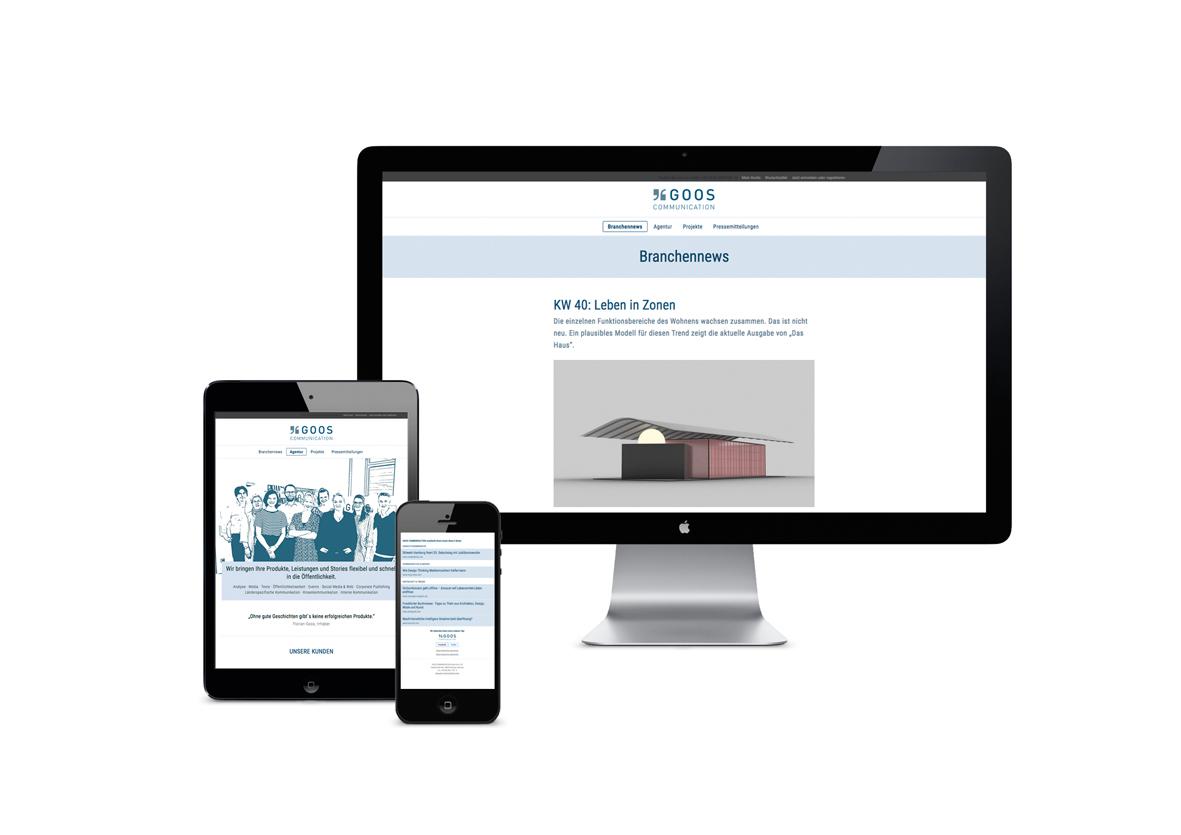 Neue Website, interessanter Newsletter, eigener Blog.