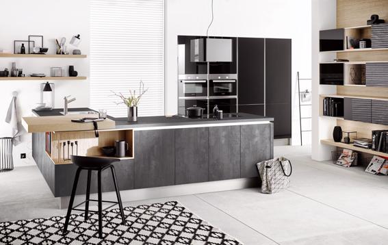 Häcker Küchen präsentiert neue Fronten in Betonoptik — GOOS ...
