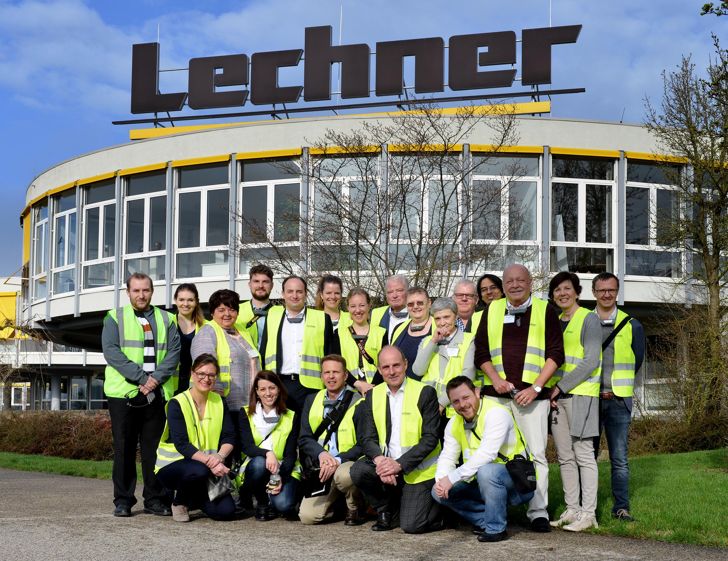 Gruppenbild bei Lechner
