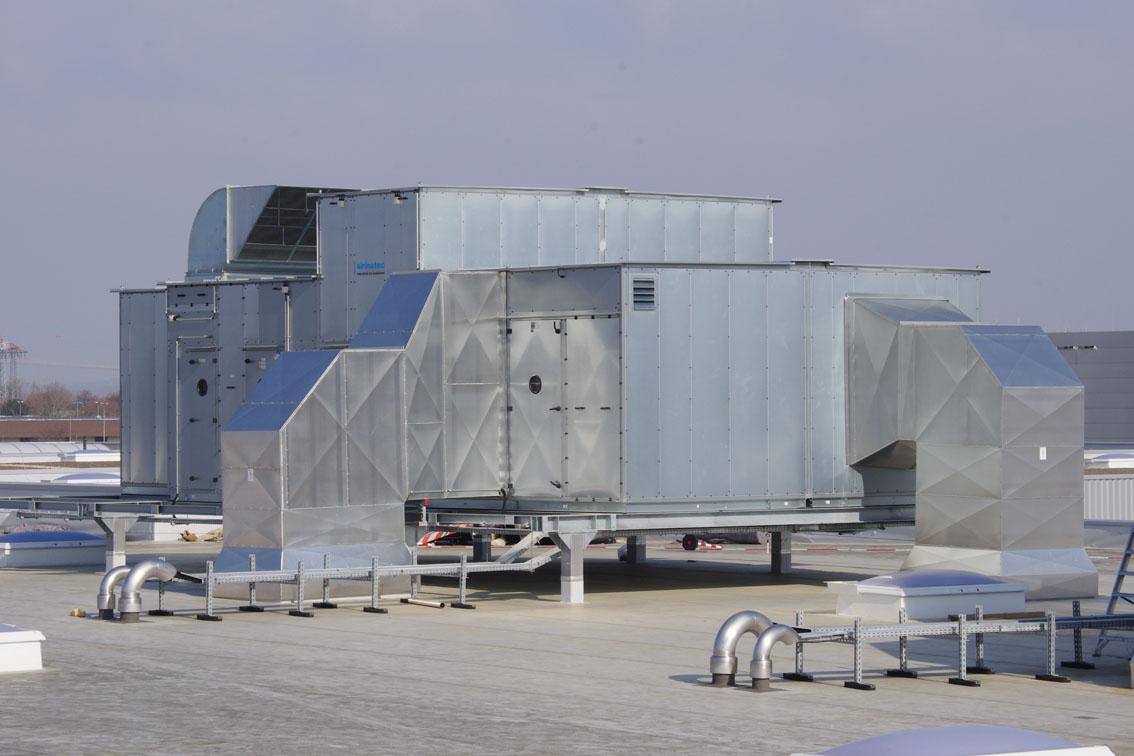 airinotec Produktionsklimaanlage