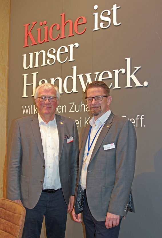 Franz Bahlmann und Dietrich Franz © wohninsider