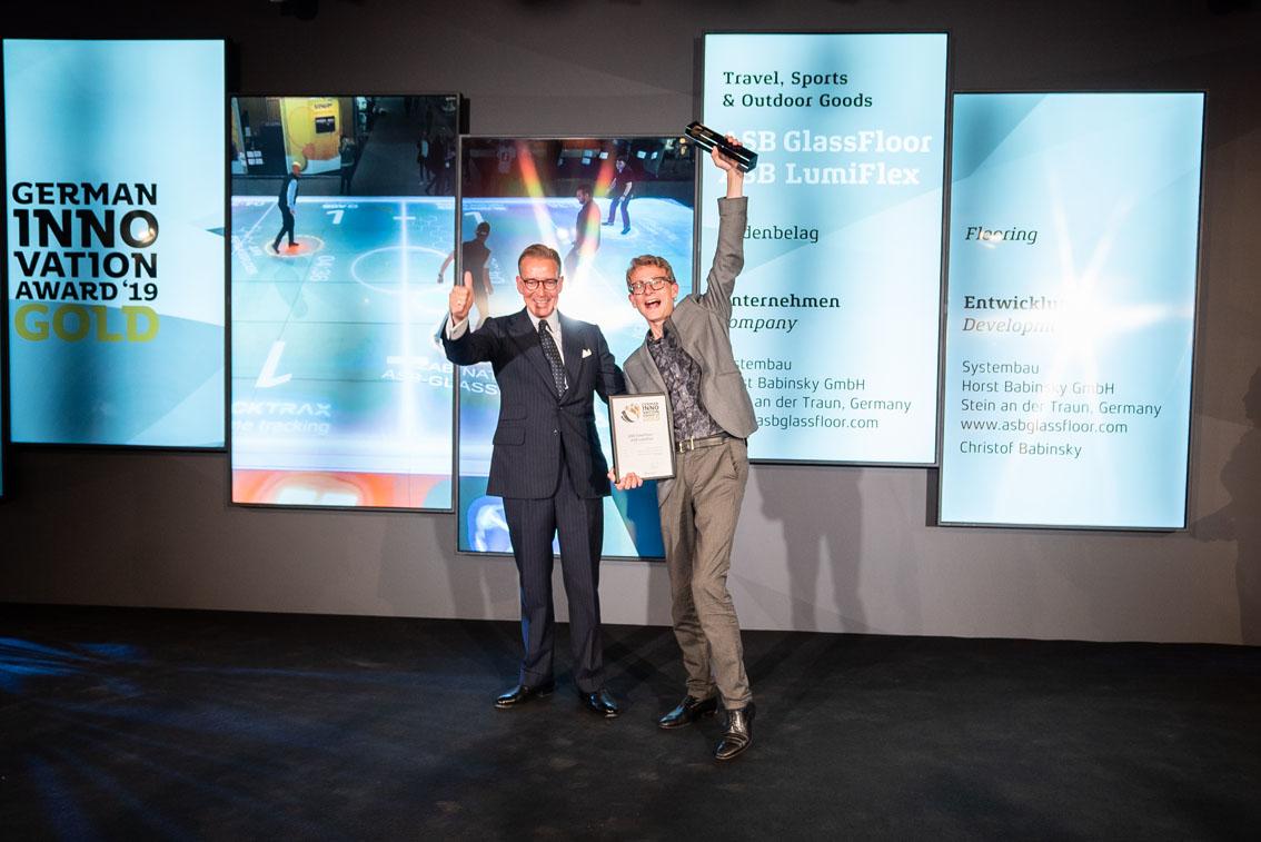 German Innovation Award: Andrej Kupetz und Christof Babinsky