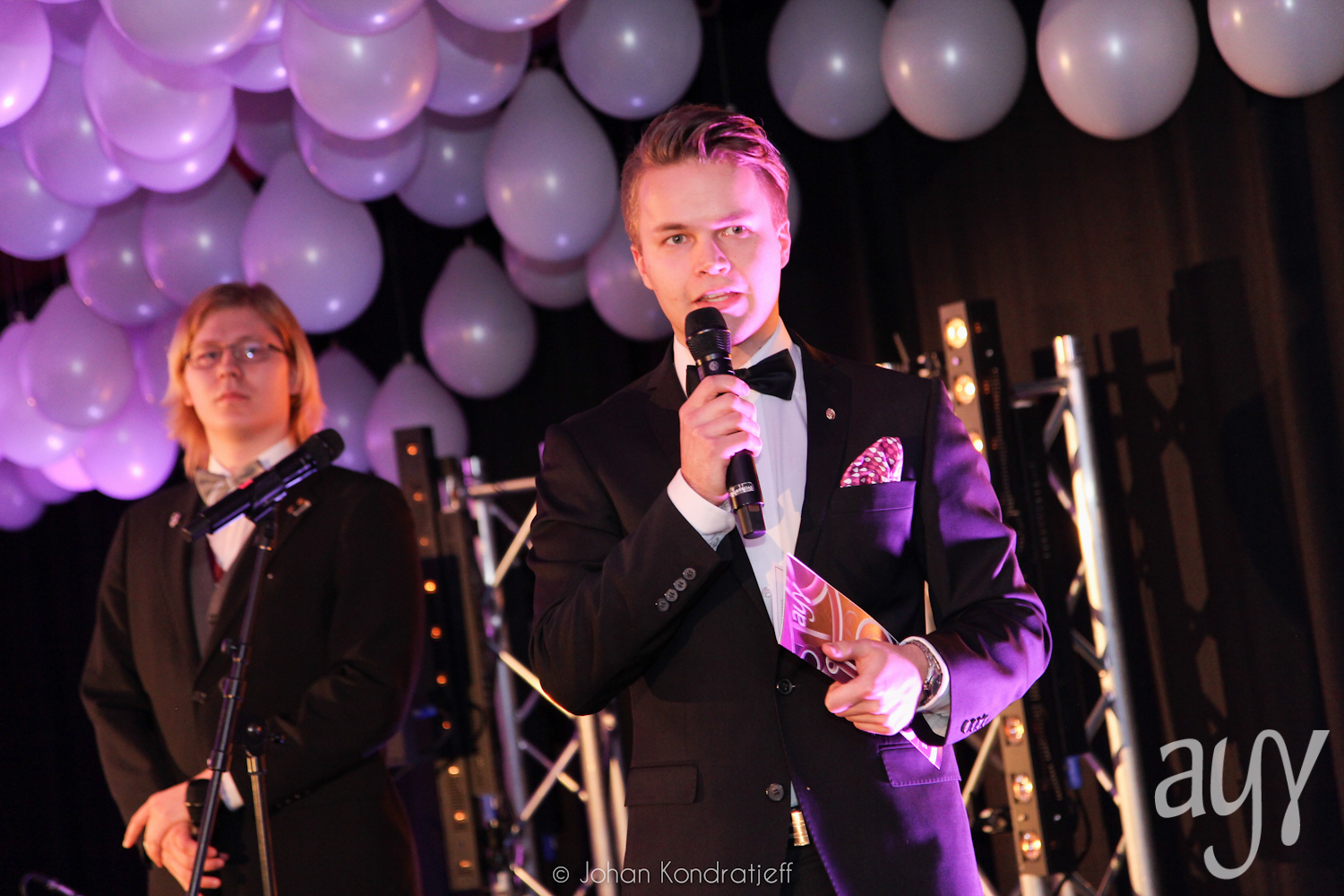 Hosting the 5th Annual Ball of Aalto University Student Union. Photo: Johan Kodratjeff