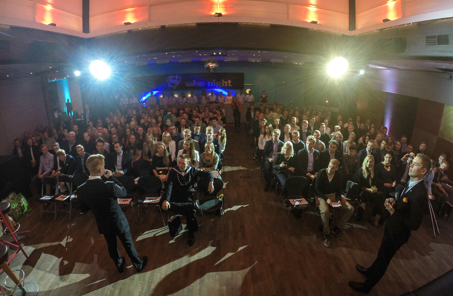Sales Night 2014 - a sales-oriented event for 200+ business students in Helsinki.