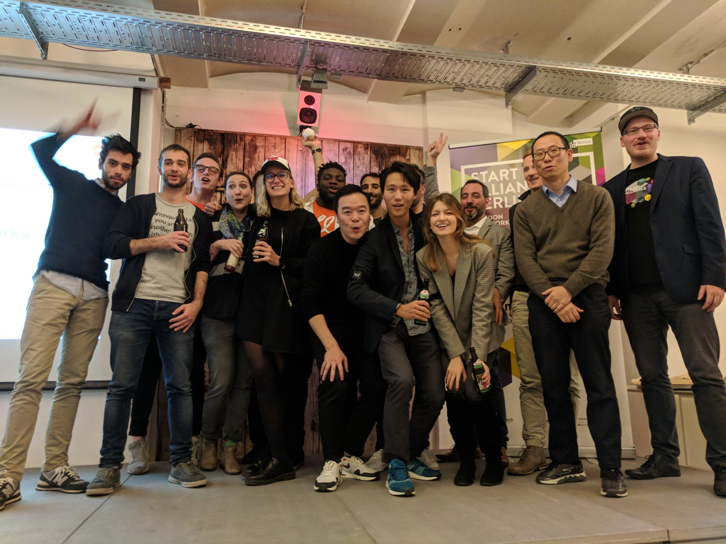 Start Alliance Berlin - December 2017 cohort