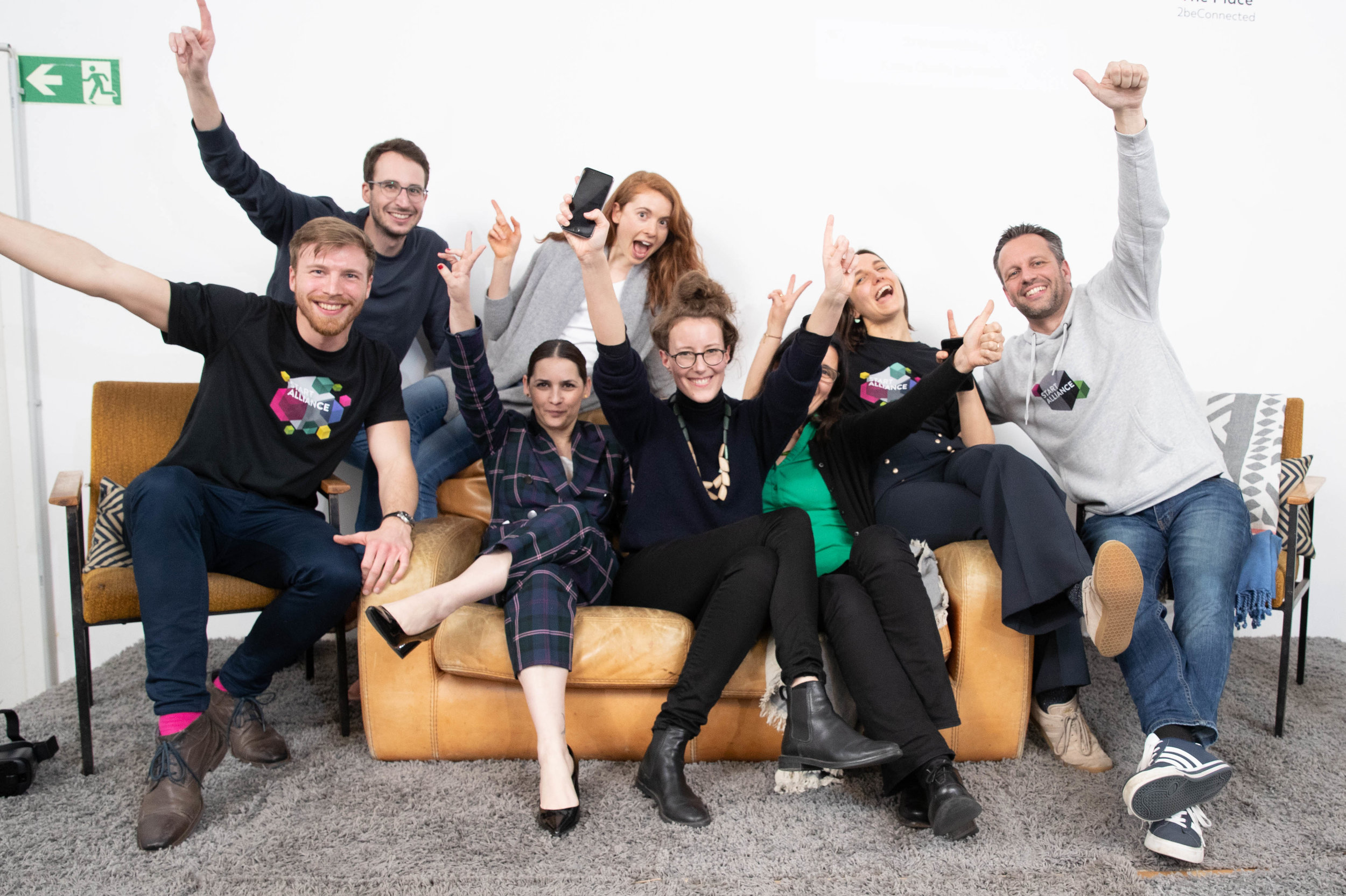Klaudia Bachinger - winner Female Founders Berlin 2019