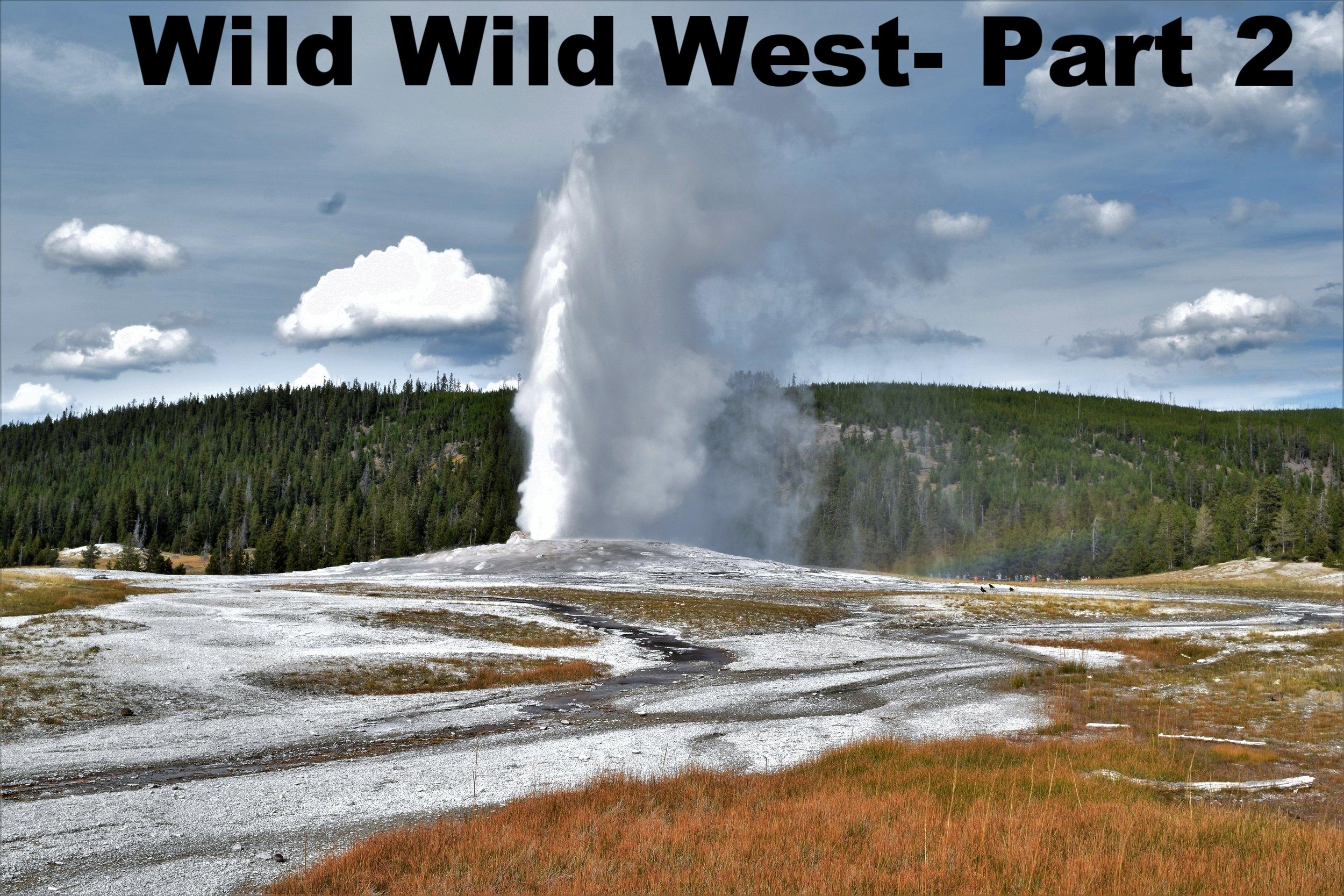 Grand Tetons& Yellowstone Upper Geyser Basin
