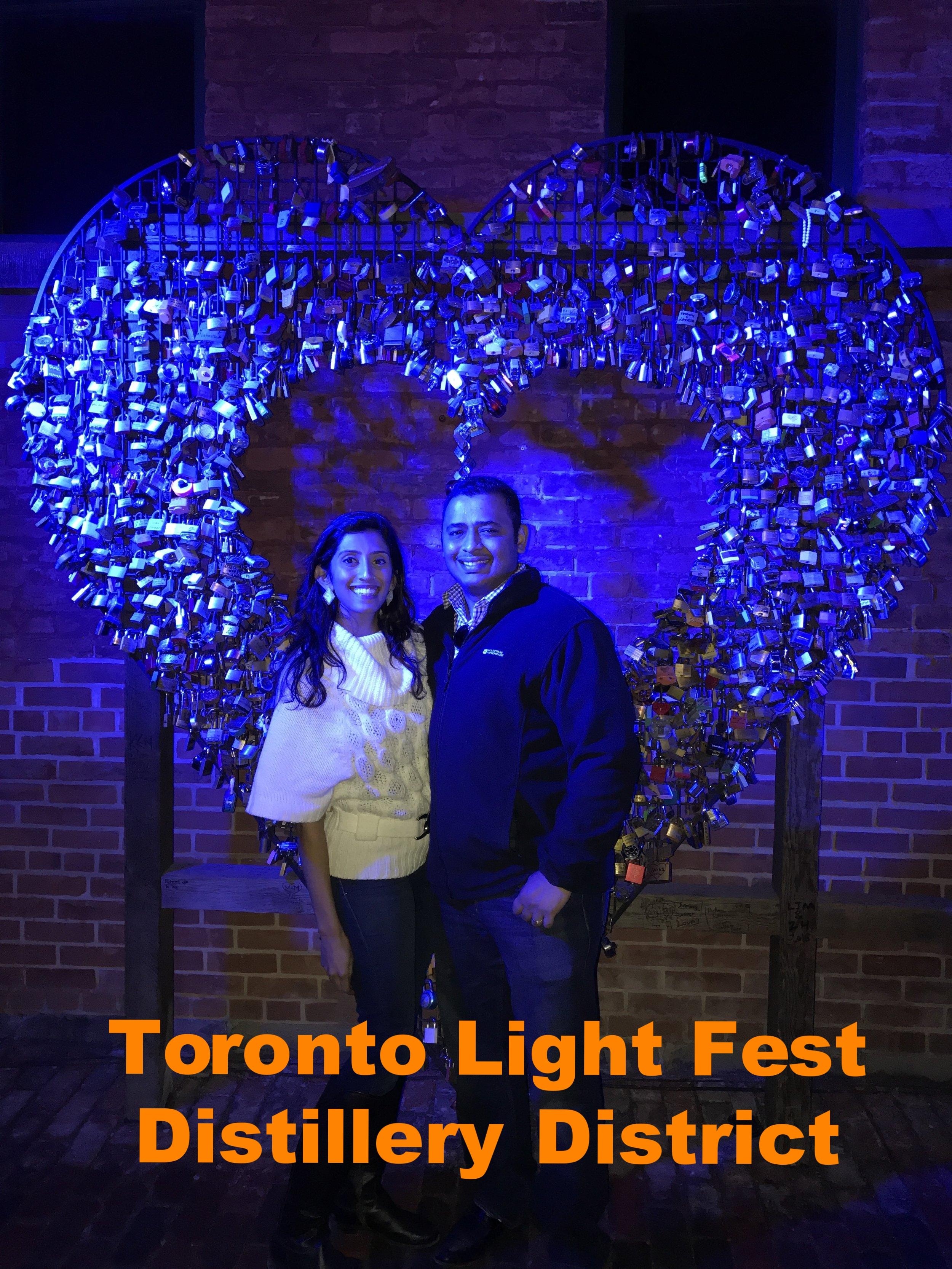 Toronto Light Fest- Distillery District