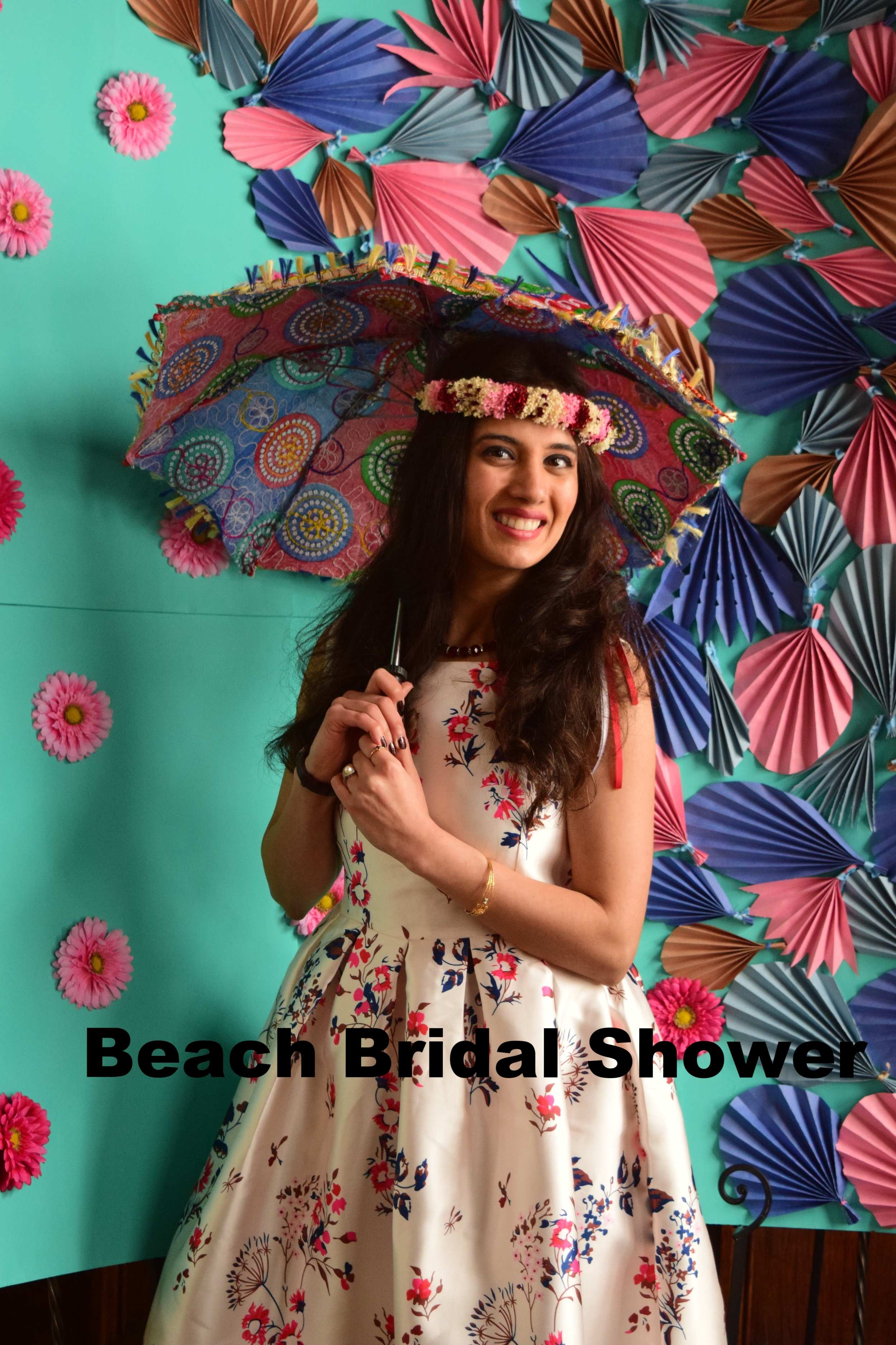 A Hawaiian Beach Themed Bridal Shower