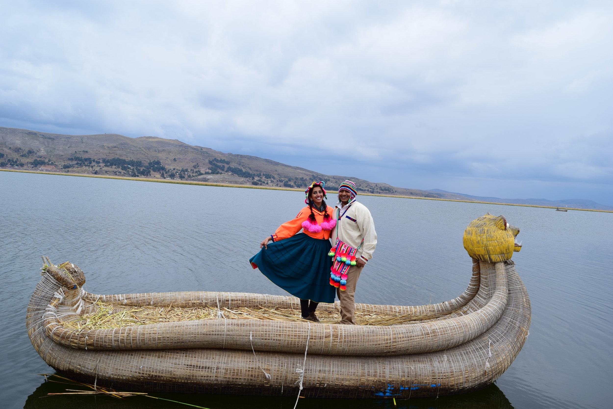 Puno- Uros Floating Islands