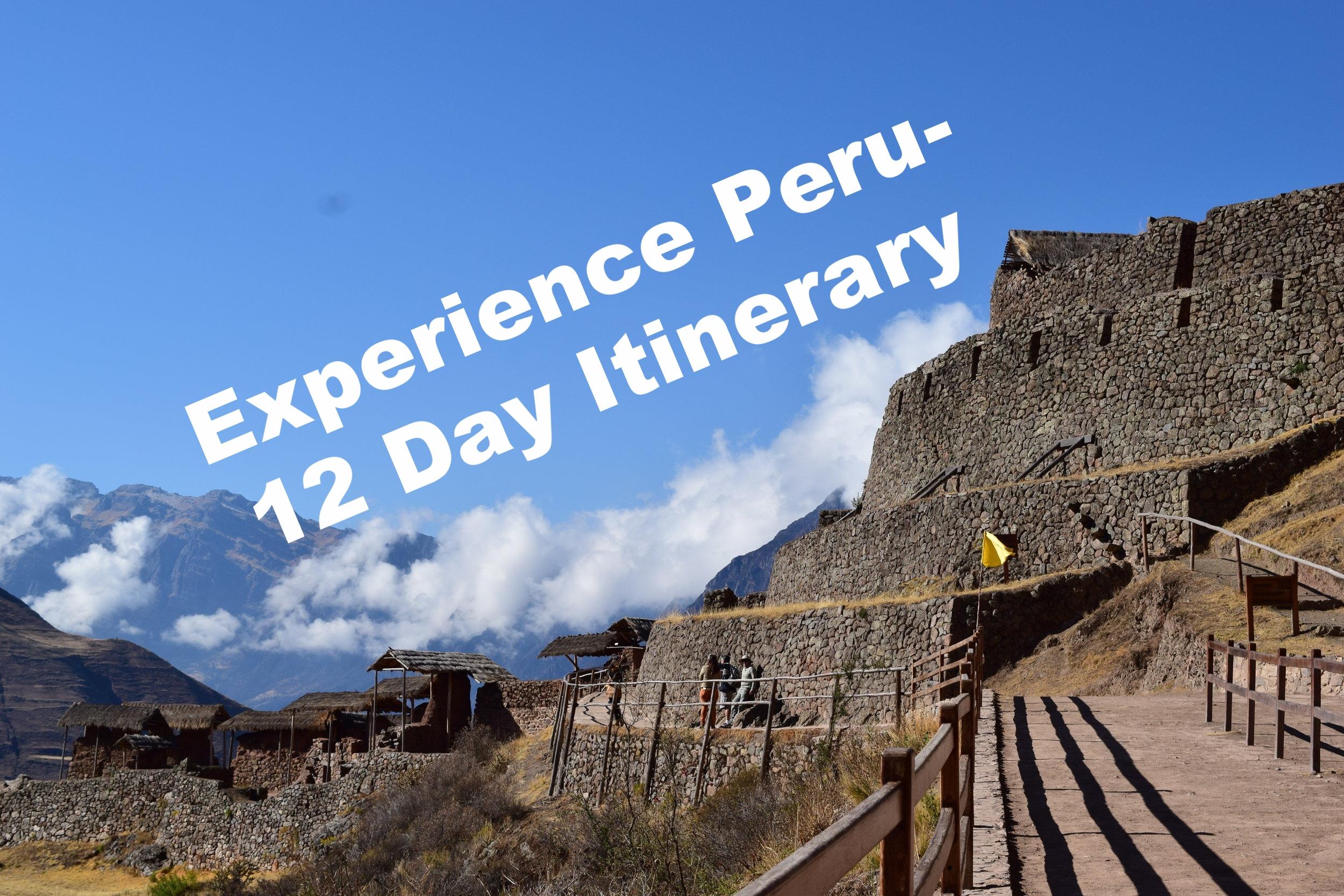 12 Days in Peru- Active Traveller's Loop
