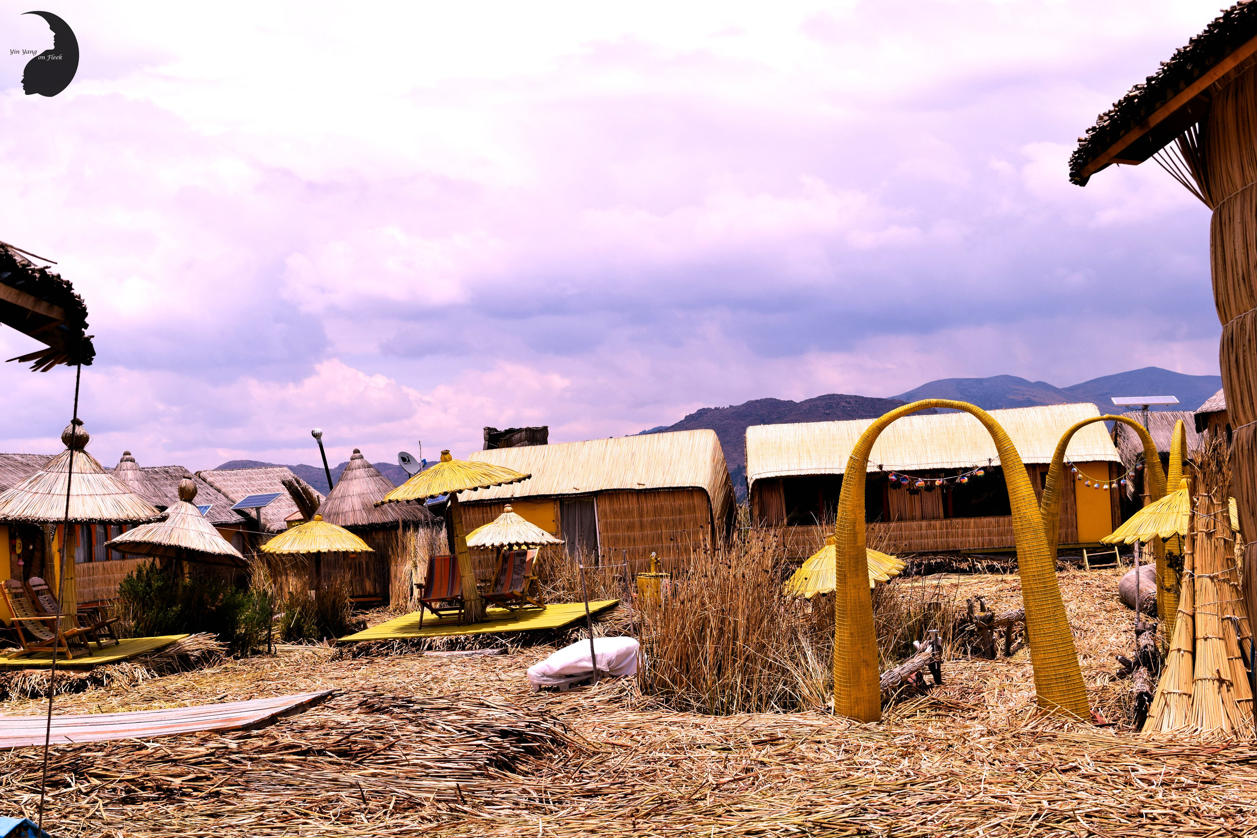 Floating Islands of Uros- Reed Cabins