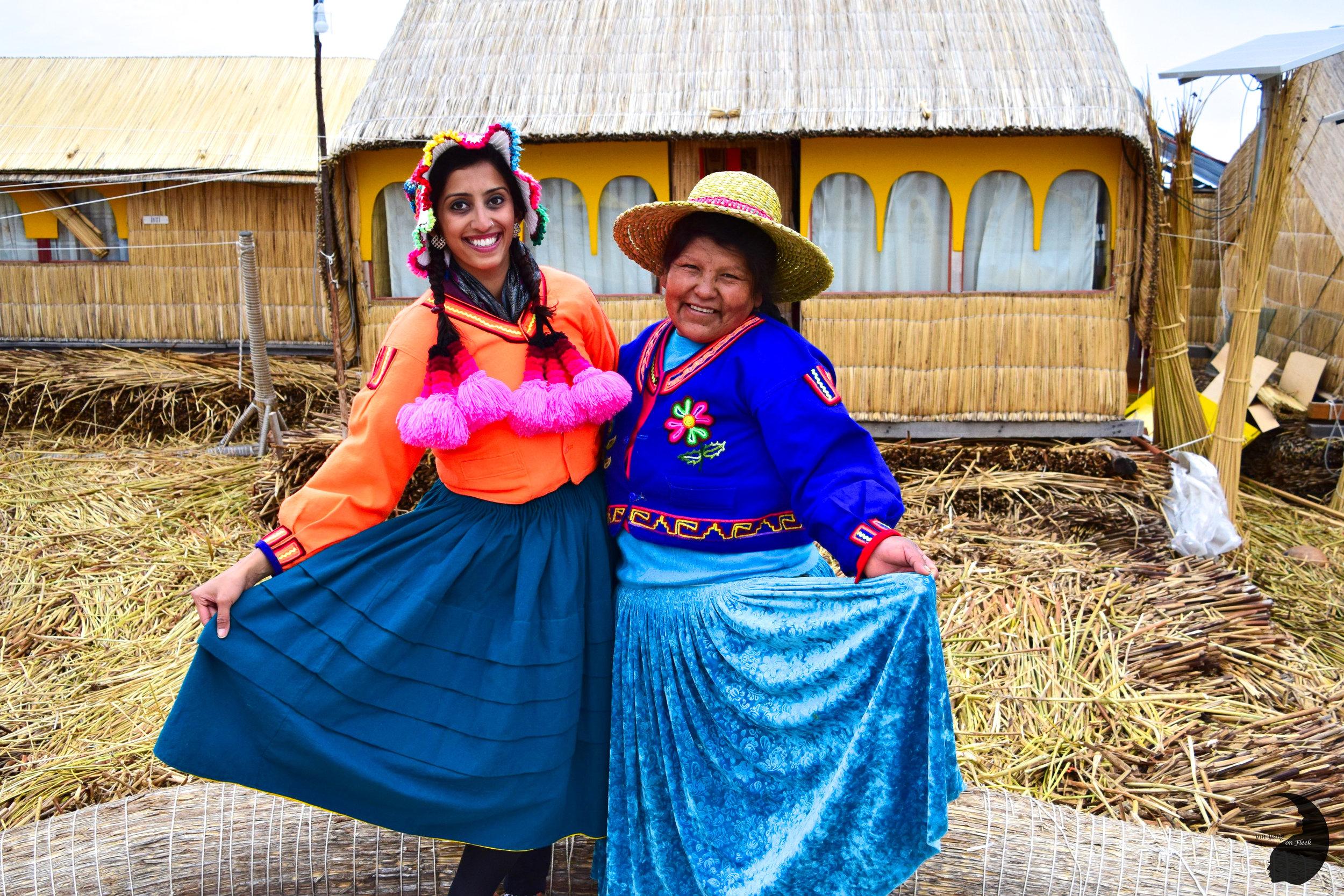 Uros Khantati- Peruvian clothes