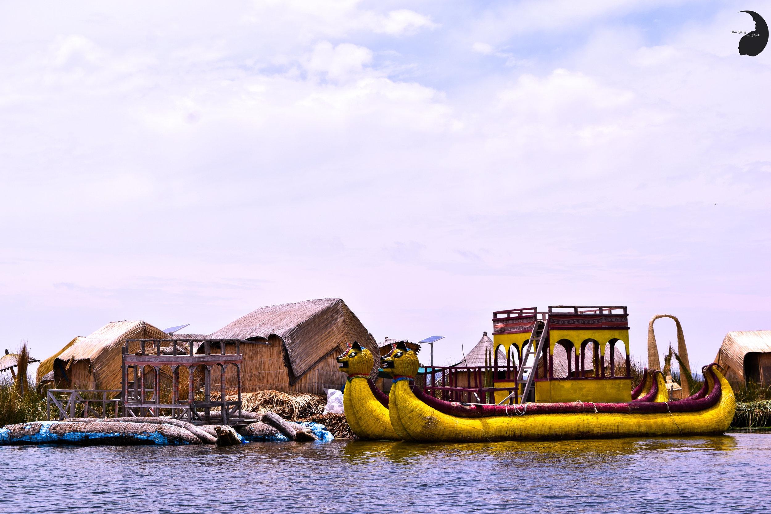 Uros Khantati- Floating Island