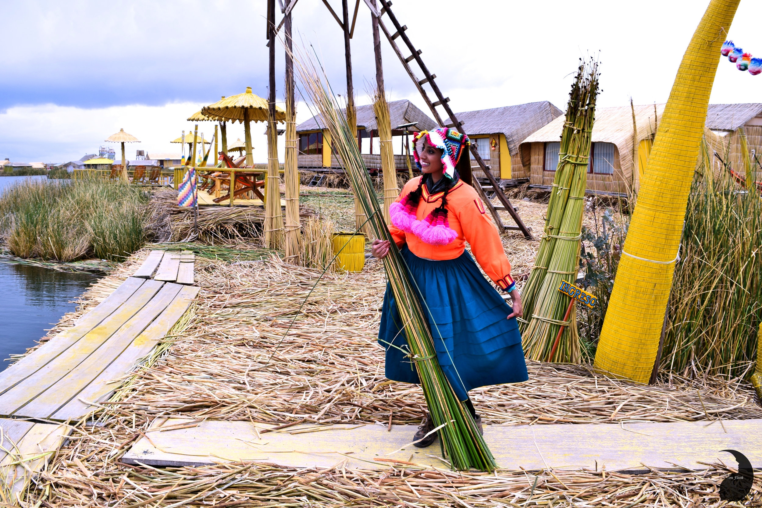 Floating island of Uros- Culture Trip