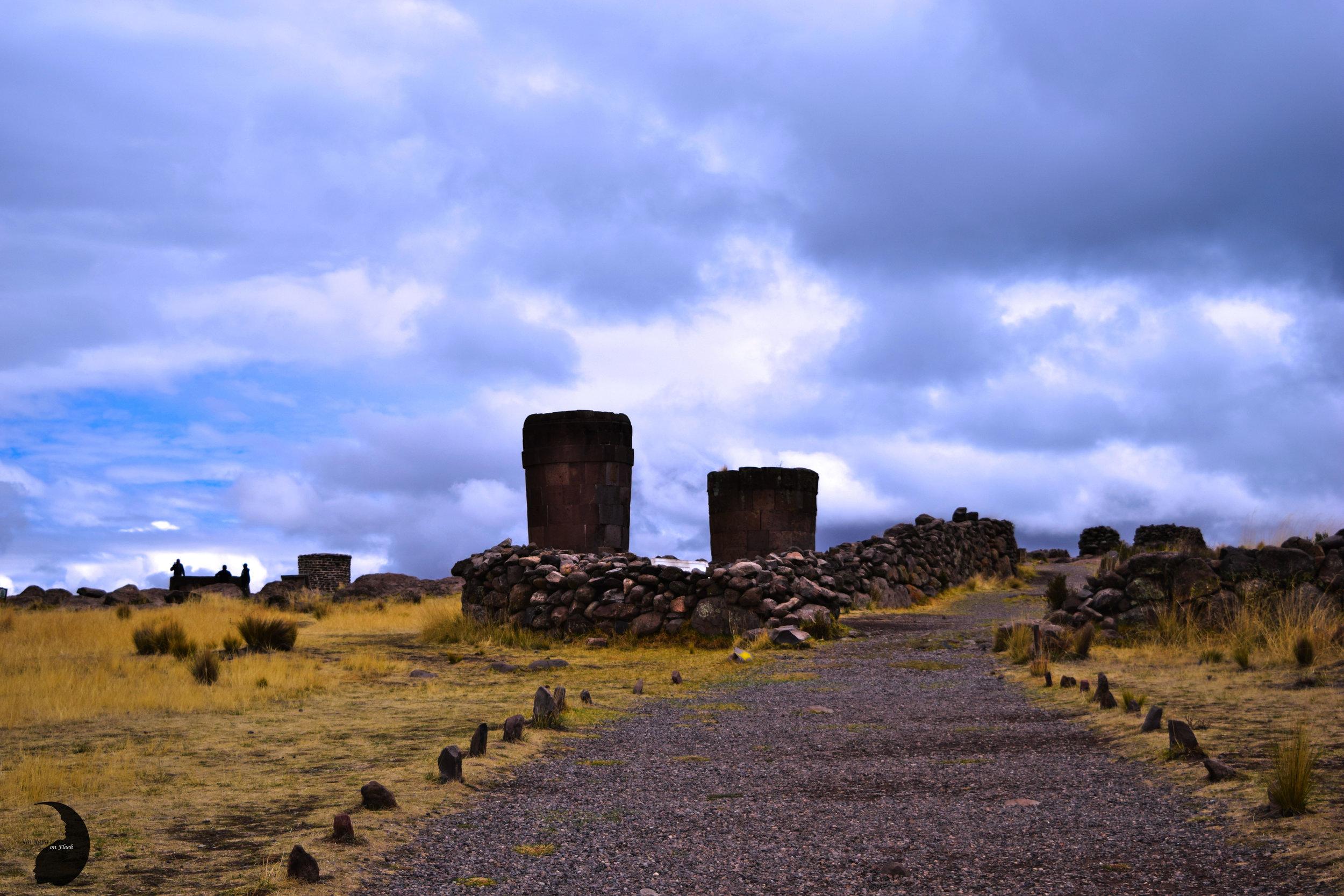 Dramatic Skies- Sillustani, Peru