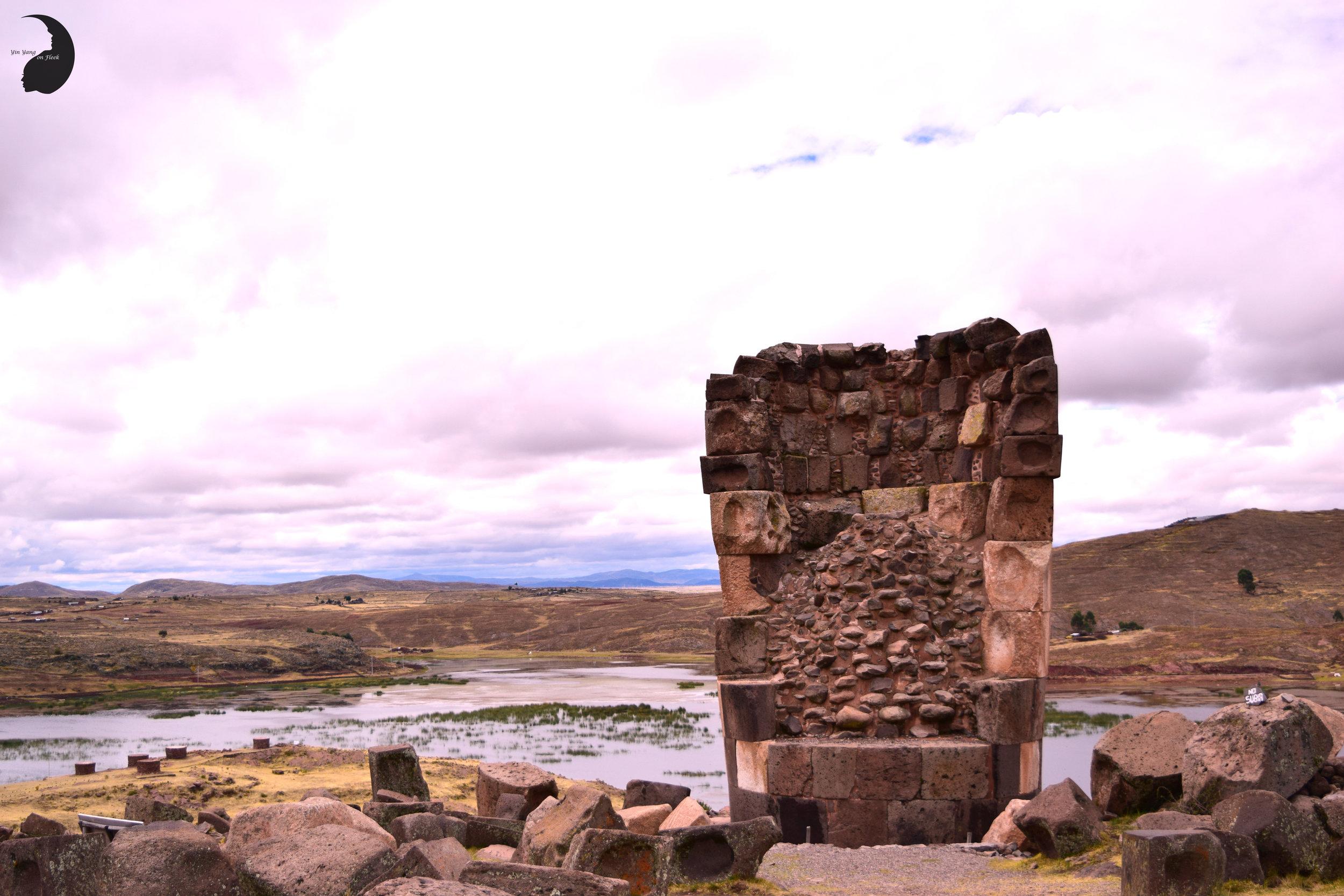 Blissful Views- Sillustani, Peru