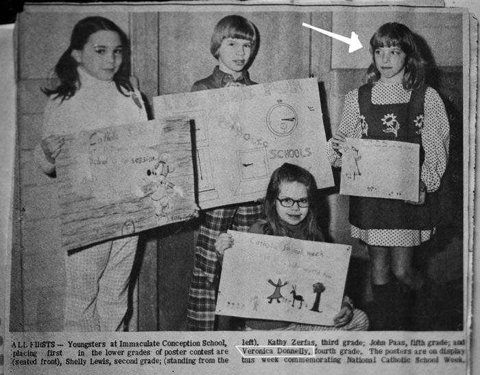 school award Veronica Donnelly