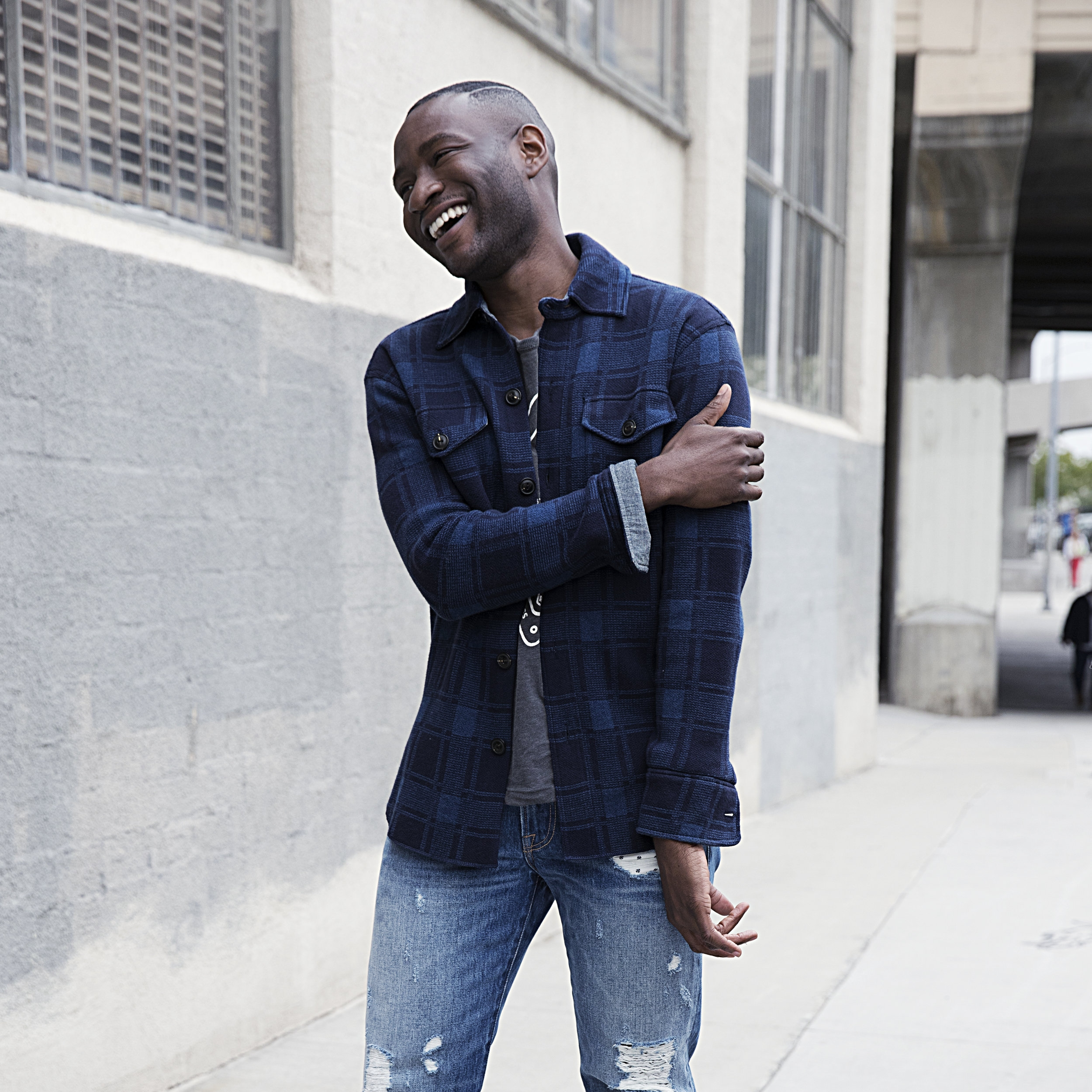 - Check out Michael's new campaign with Lucky Brand Jeans...meet The New Class!