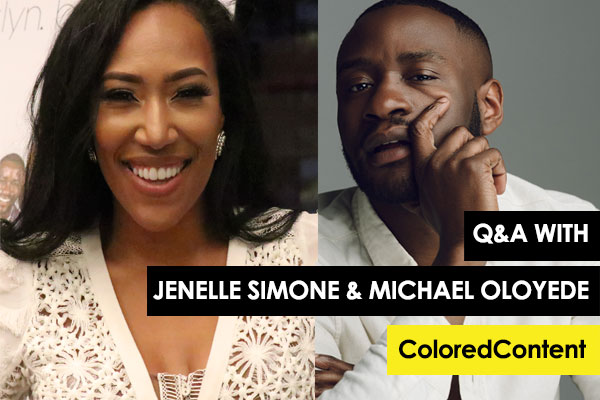 ColoredContent - Check out an interview with Michael and his co-star Jenelle Simone over at ColoredContent.com!
