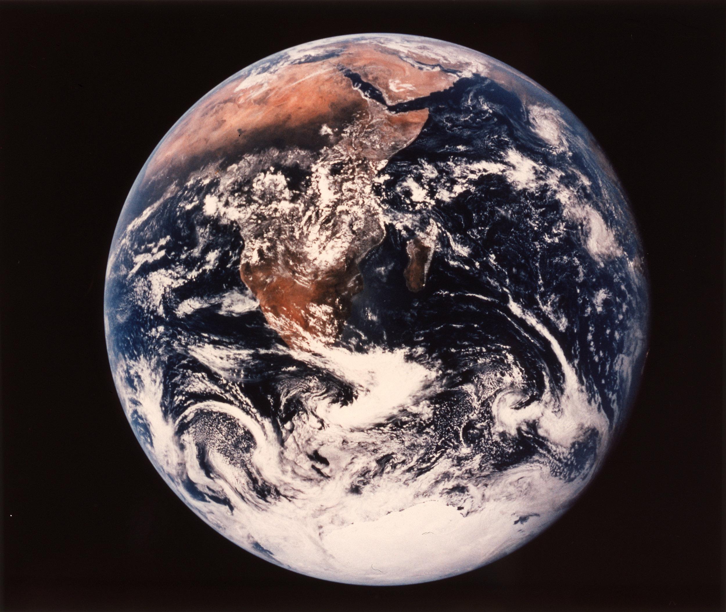NASA 72-HC-928 Earth, The Blue Marble