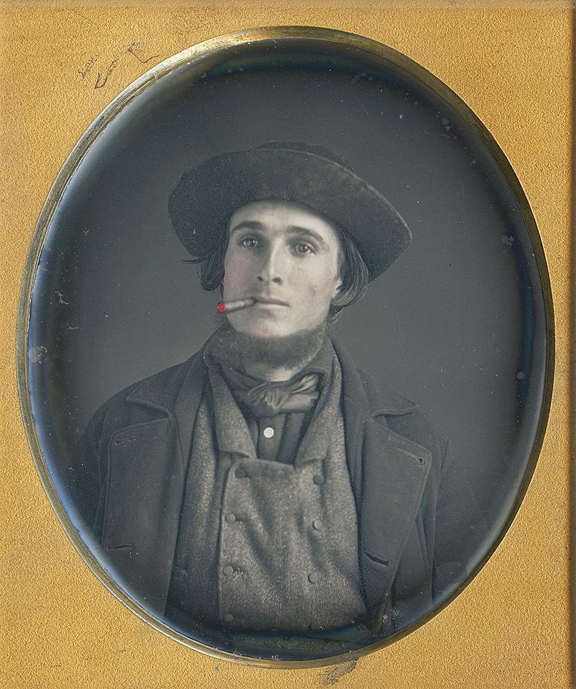 Sixth plate daguerreotype