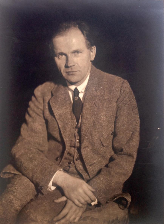 Portrait of pianist Willhelm Backhaus (1884-1969)