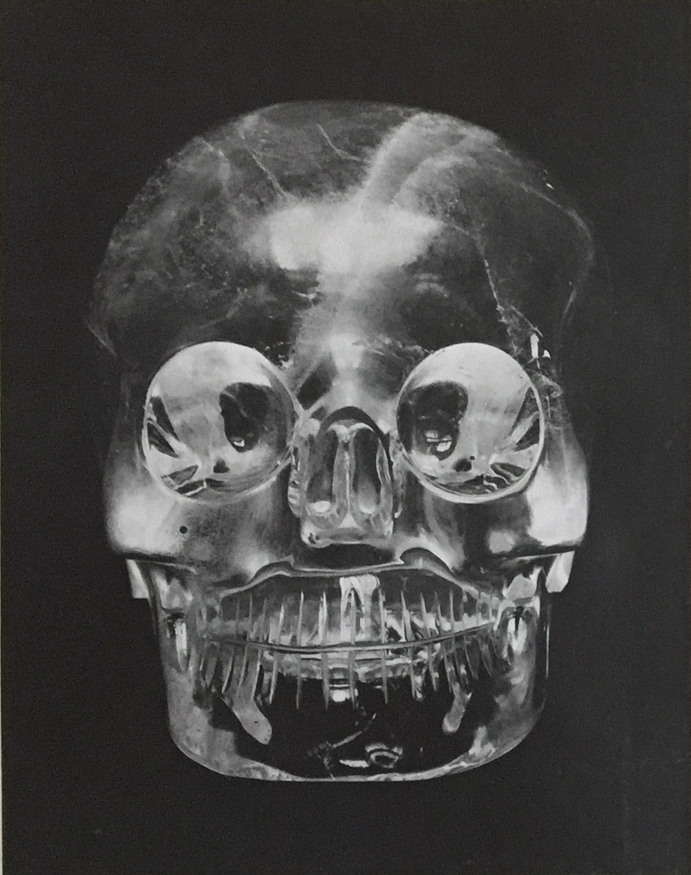 Crystal Skull, British Museum, c. 1950, Courtesy The Front