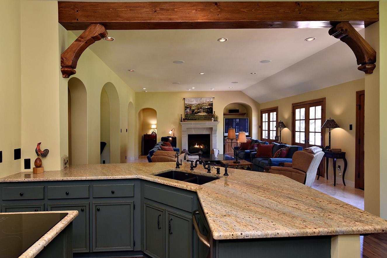 Kitchen to Fireplace.jpg