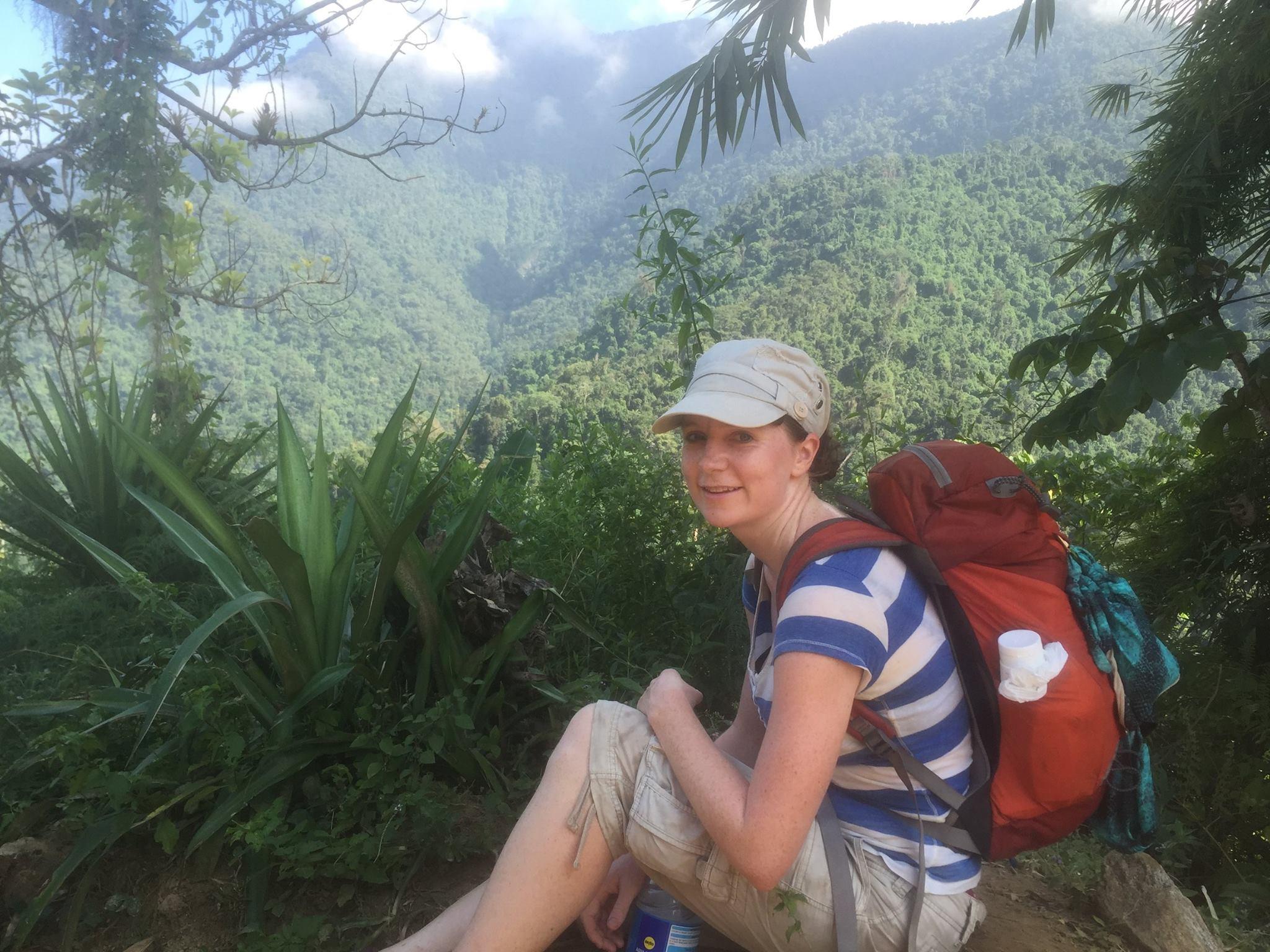 Jolein, during the trek!
