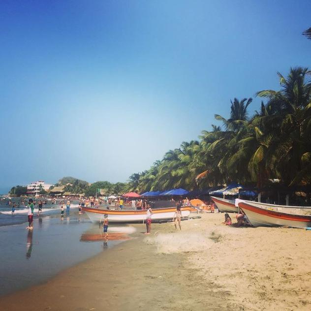 Playa de Santa Veronica.