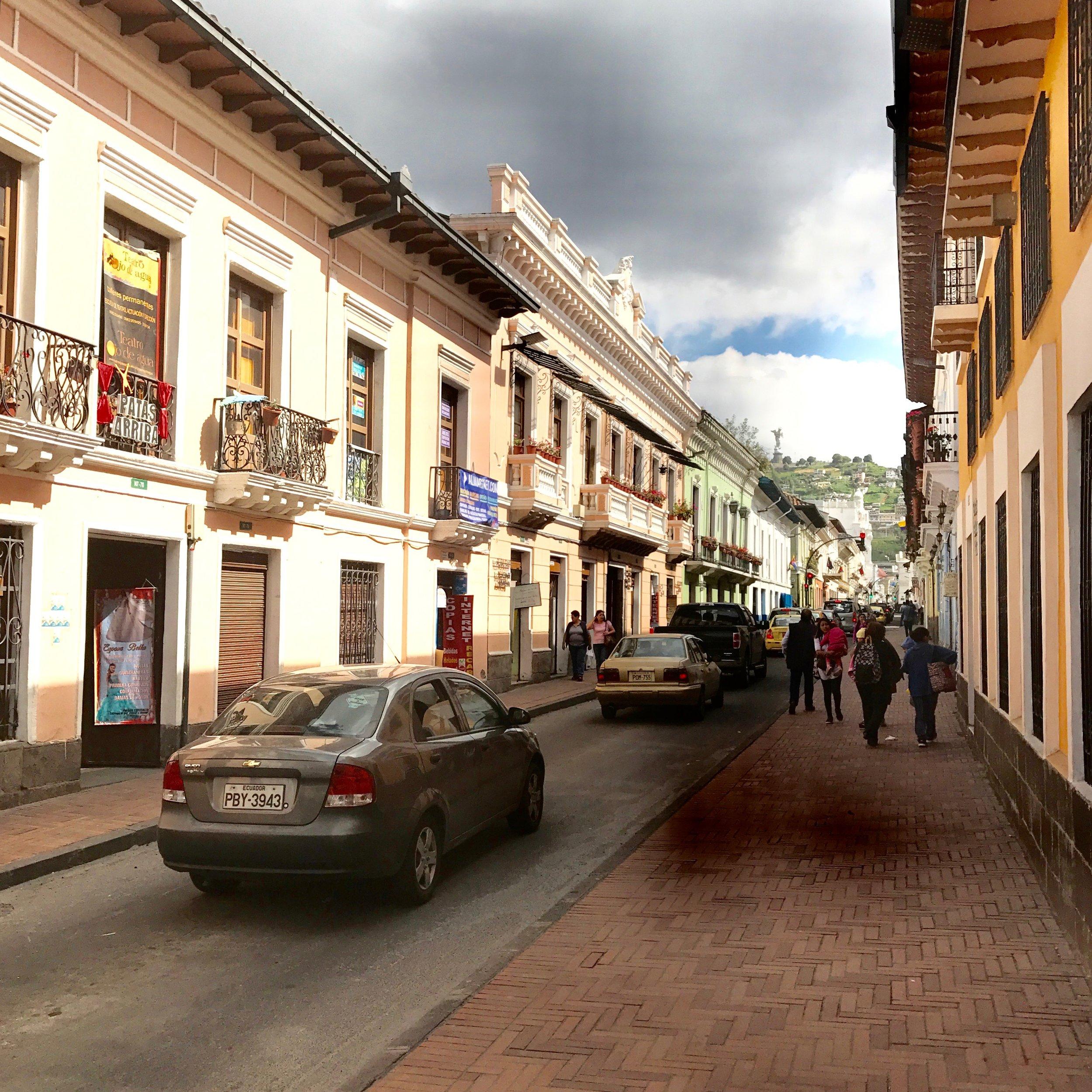 El Centro Histórico, Quito.