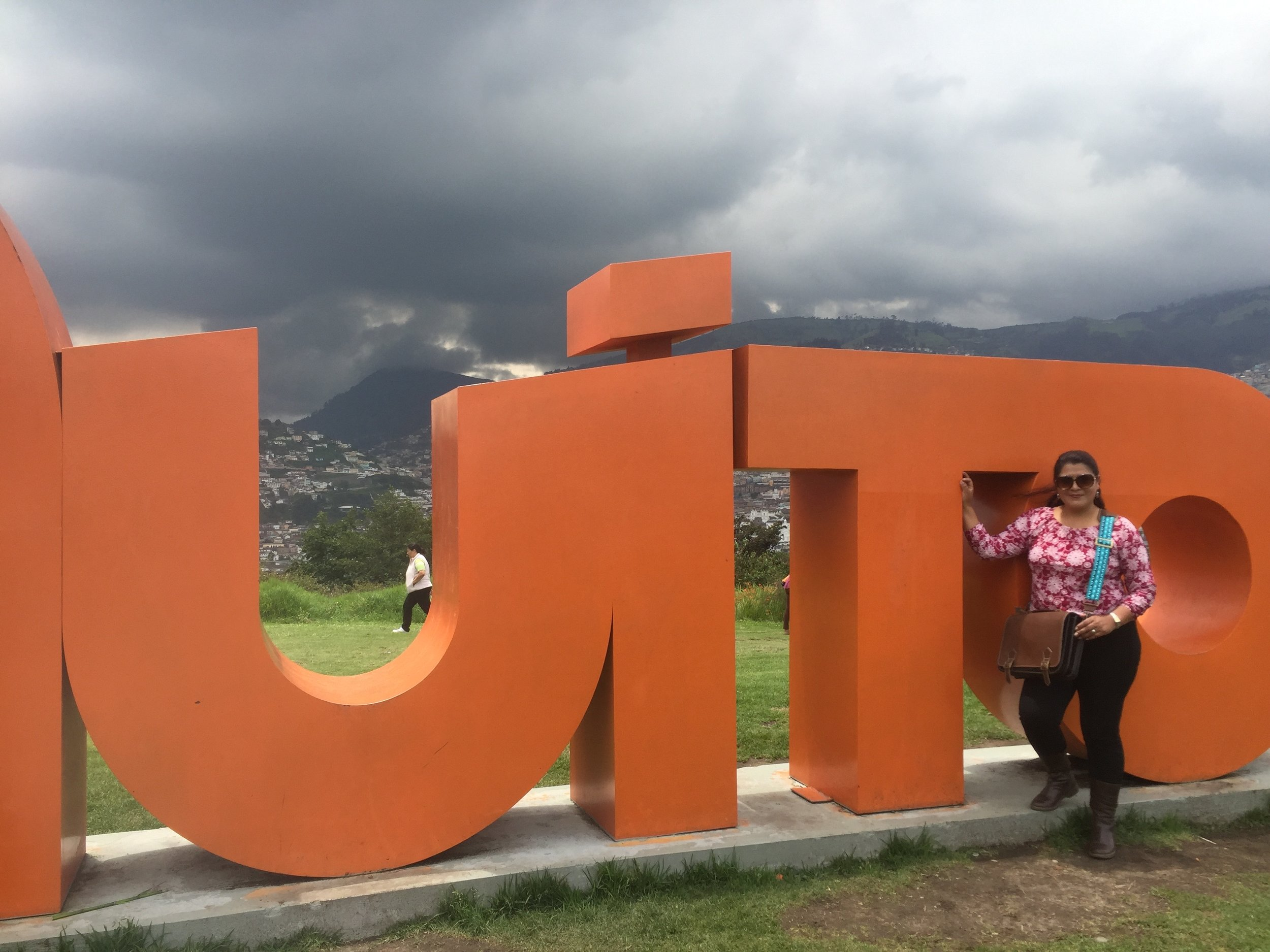 A day of making connections (& some fun) in Quito!