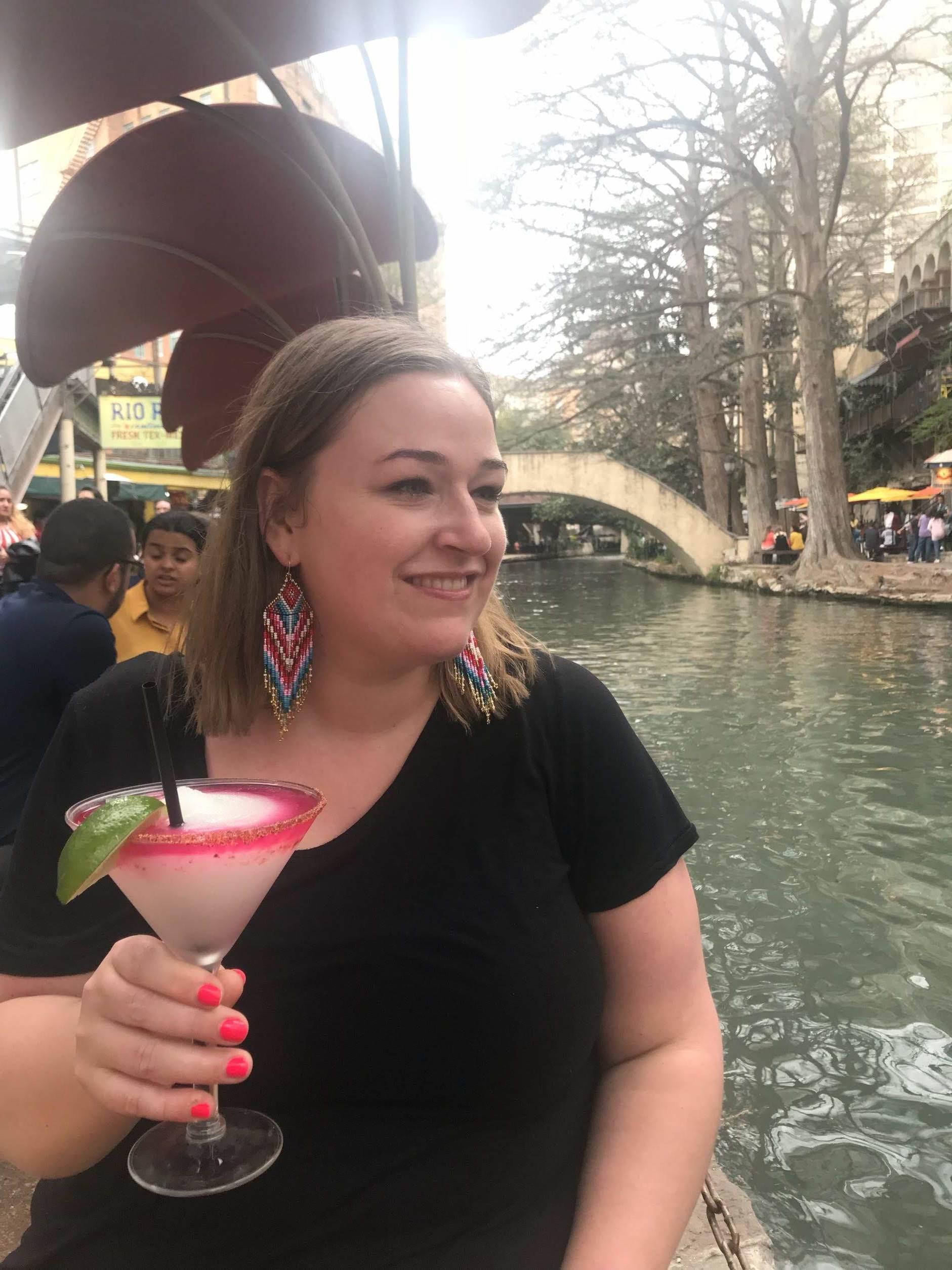 Margaritas & dessert on the San Antonio Riverwalk!
