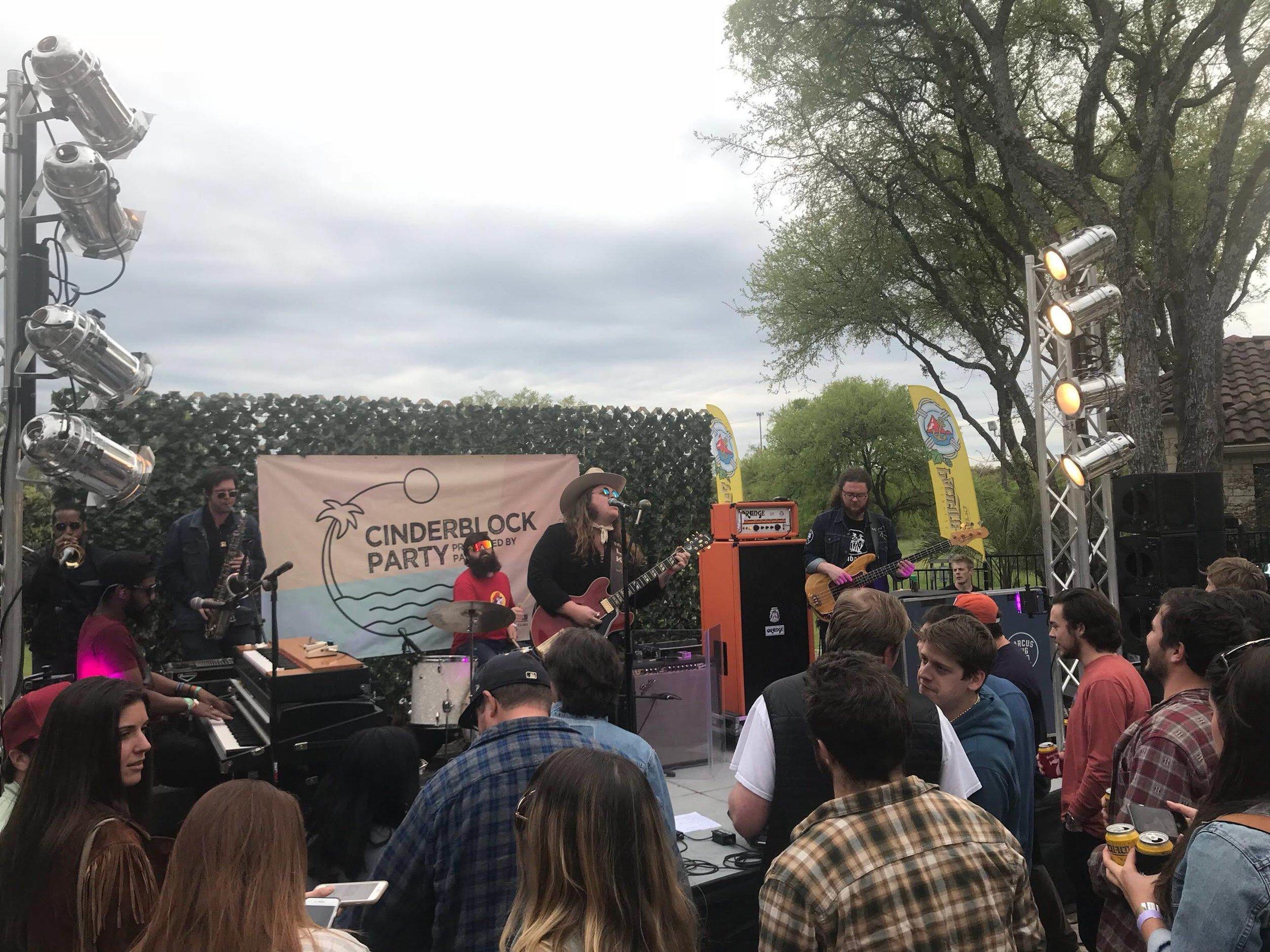 Cinderblock's annual SXSW party.