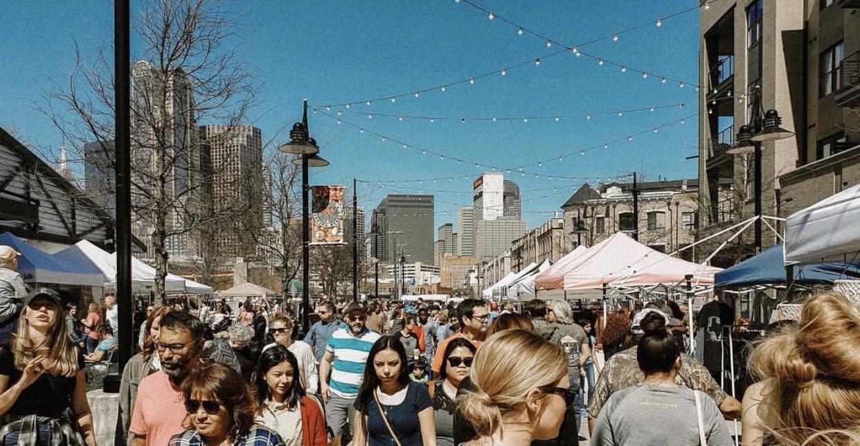 The March 9 Boho Market at The Dallas Farmer's Market.