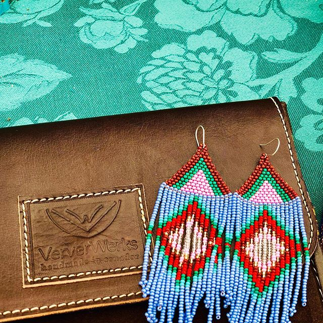 💓 Thanks to everyone who made a special effort to come find us today! 🙌🏻 Exciting things happening this summer ~ can't wait to share with you! 🌻 #VerverWerks #wieldyoursoul ____________________________________________ #texassummer #lavender #turquoise #leathergoods #textileobsession #handcrafted #statementjewelry #statementbags #fringebangs #gotoearrings #summerintexas