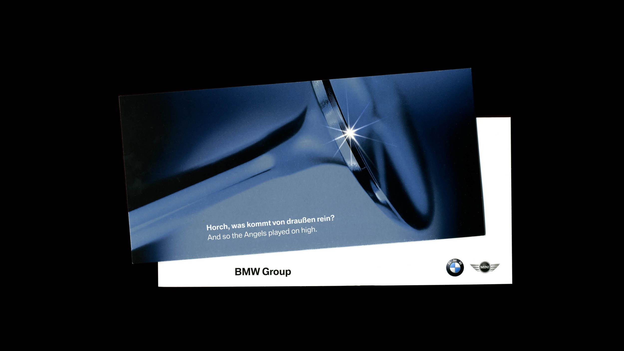 BMW Global Christmas Card