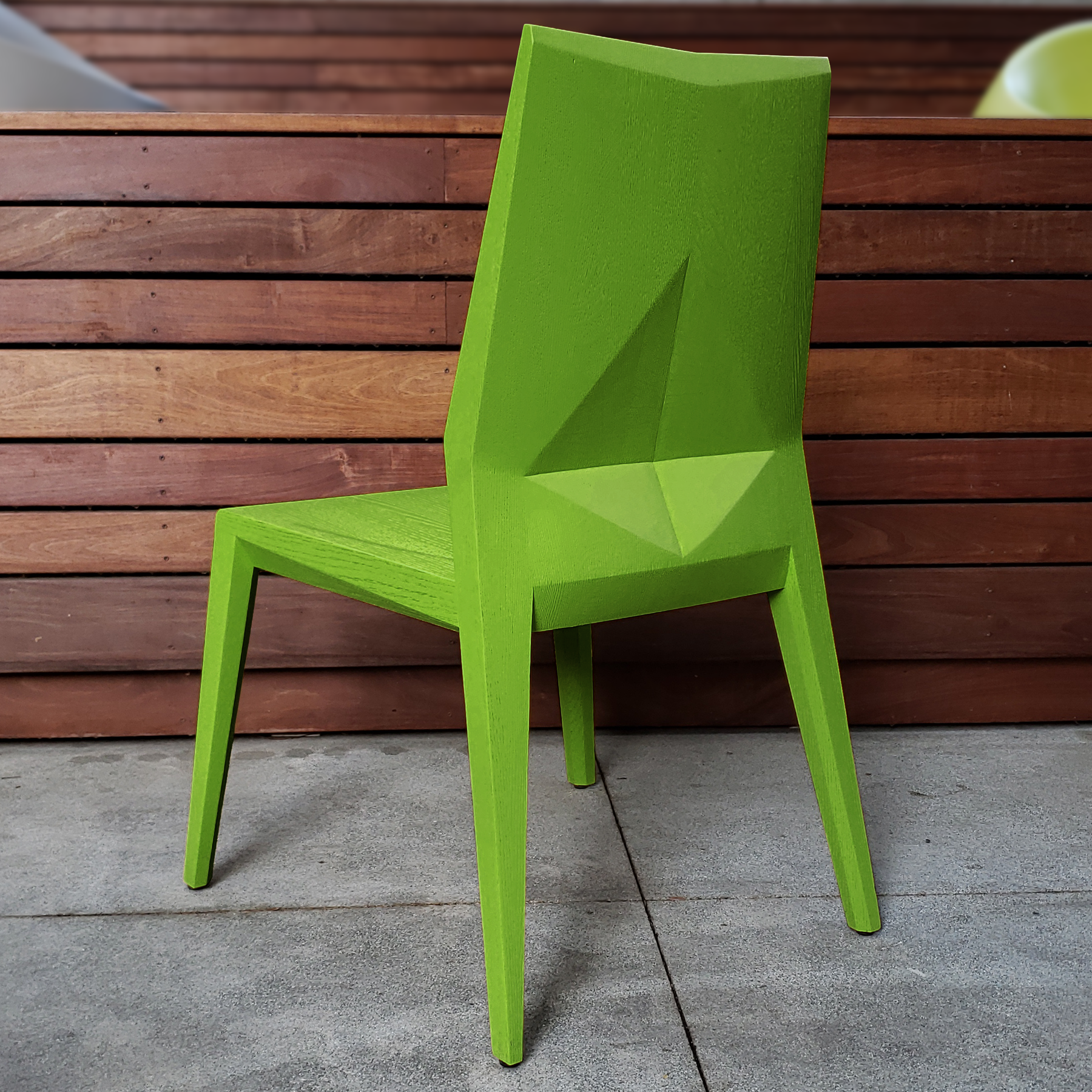 November Chair in   Lush   finish