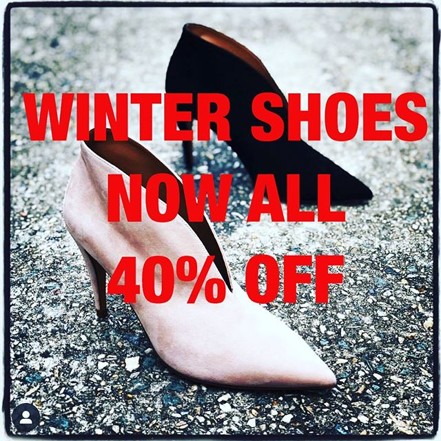 New SS19 arrivals are here so we need to clear some space! All Winter 19 now 40% while stocks last! #miloandmacyshoes #ascot #brisbanestyle #brisbaneboutique #shoestagram #shoesoftheday #shoesaddict #brisbanewinter #winter19 #europeanshoes #aliasmaeshoes #prettyballerinas #nudeshoes #rollieshoes #sempredi #felminiboots #puralopezshoes #boots #loafershoes #flatshoes #stylish