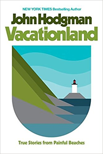 Vacationland - John Hodgman - I'll admit, I've been vaguely following John Hodgman's career since he departed from The Daily Show. Anyways, he's been up to a whole lot but also a whole lot of nothing. This book kind of explains that in a really funny and thoughtful way. Plus, Aaron Draplin did the artwork for it. Pretty rad, right?
